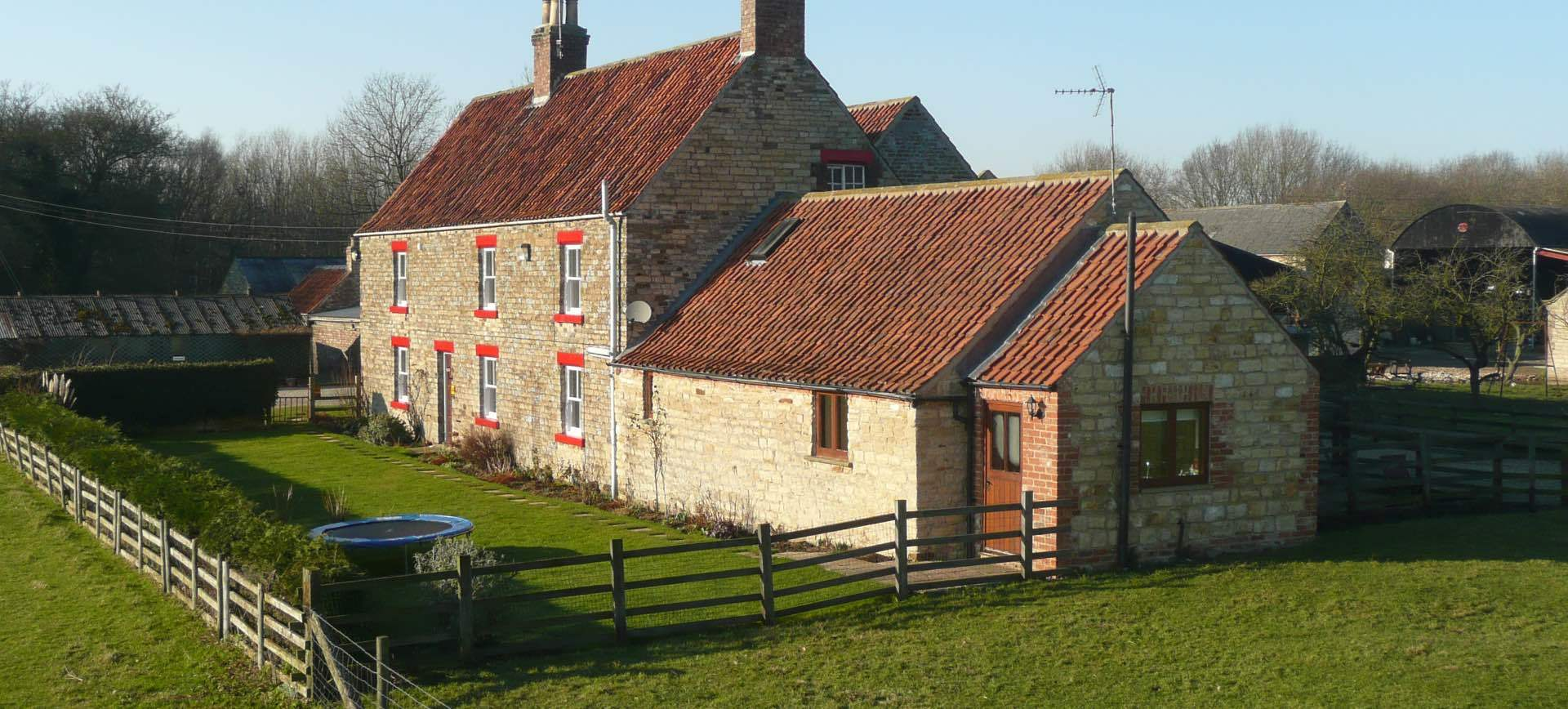 Woodhouse Farm B&B at Westow, near Malton