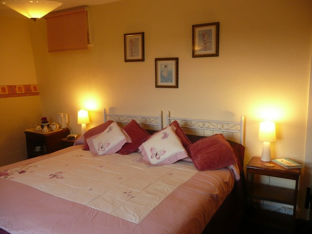 Double bedroom at Woodhouse Farm B&B Westow