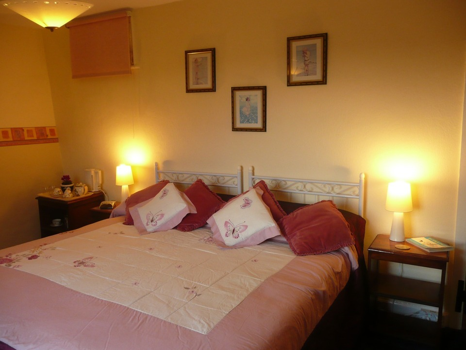 Double bedroom at Woodhouse Farm B&B